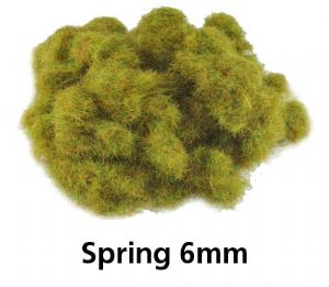 6mm Static Grass Spring Mix